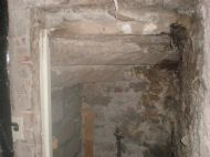 Dry Rot under the Stairs